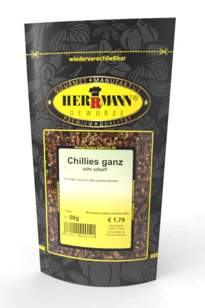 Chillies ganz