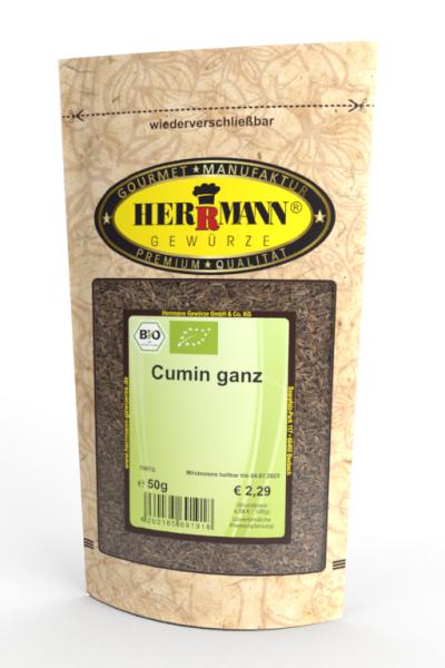 Cumin ganz (Kreuzkümmel) (BIO)