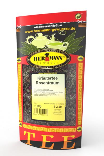 Kräutertee Rosentraum