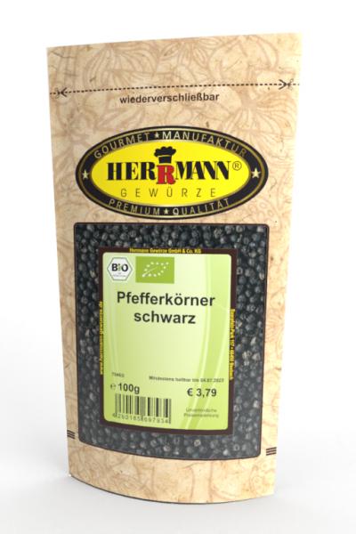 Pfefferkörner schwarz (BIO)