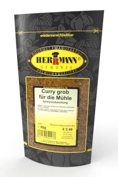 Curry grob für die Mühle