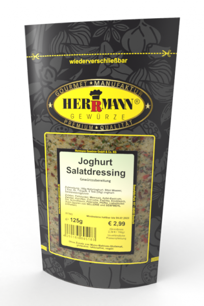 Joghurt Salatdressing