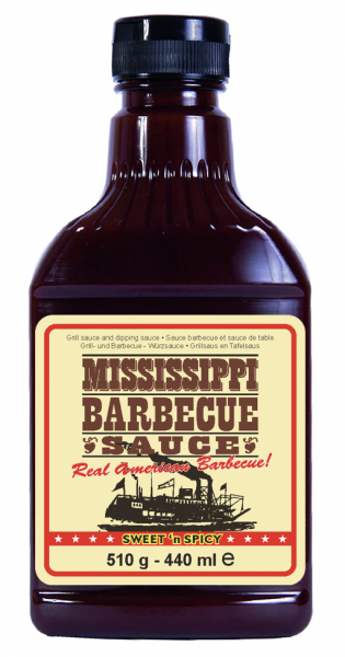 Mississippi Sweet`n Spicy Barbecue Sauce