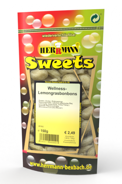 Wellness Lemongras Bonbons