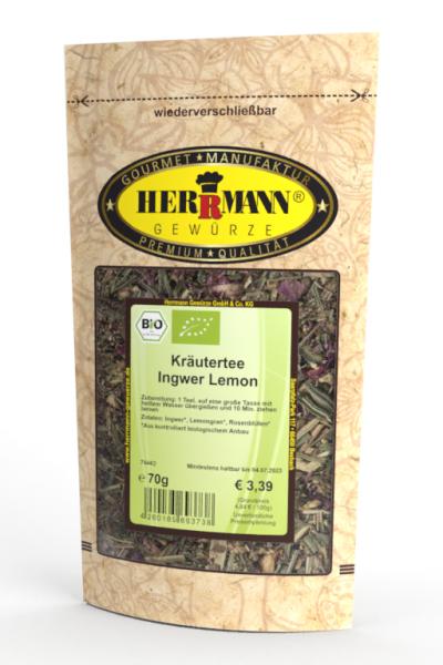 Kräutertee Ingwer Lemon (BIO)