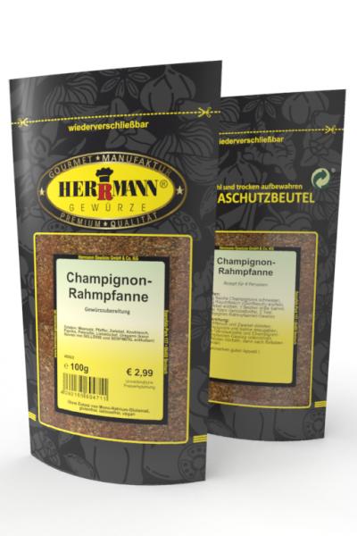 Champignon-Rahmpfanne
