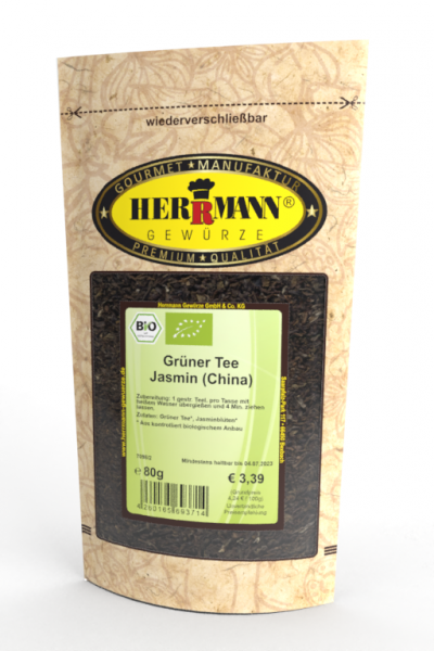 Grüner Tee Jasmin (China) (BIO)