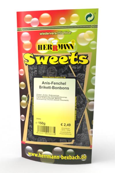 Anis-Fenchel Brikett-Bonbons